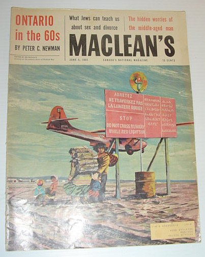 Image for Maclean's Magazine, June 4, 1960 *PETER C. NEWMAN LOOKS TOWARD ONTARIO IN THE 1960s*