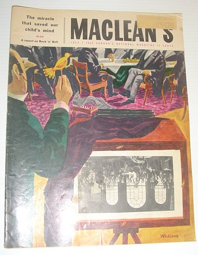 Image for Maclean's Magazine, July 7, 1956 - The Rothschild's Fabulous Stake in Canada