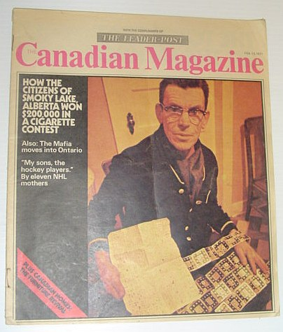 Image for The (Leader-Post) Canadian Magazine, 13 February 1971 *DEFEATING IMPERIAL TOBACCO'S CASINO CONTEST*