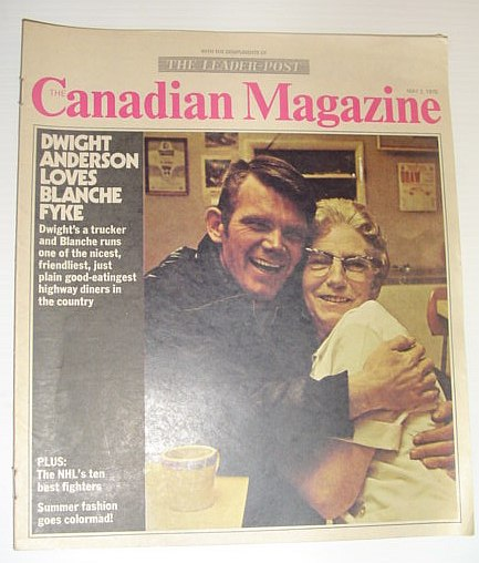 Image for The Canadian Magazine, May 2, 1970 *COVER PHOTO OF DWIGHT ANDERSON AND BLANCHE FYKE*
