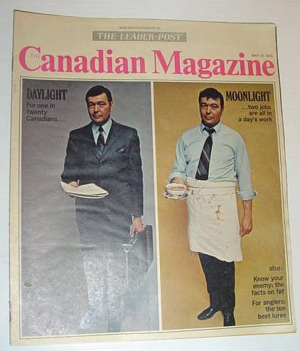 Image for The Canadian Magazine, May 23, 1970 *CANADIANS ARE MOONLIGHTING*