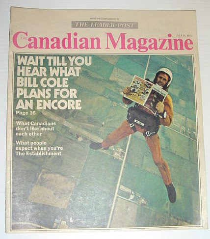 Image for The Canadian Magazine, 11 July 1970 *BIll COLE'S PLAN FOR AN ENCORE*
