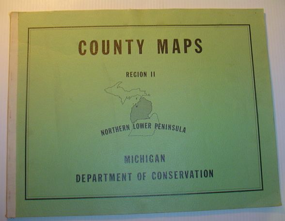 Image for (Michigan) County Maps, Region II (Two), Northern Lower Peninsula,