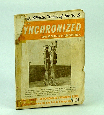 Image for Official 1960 Synchronized Swimming Handbook