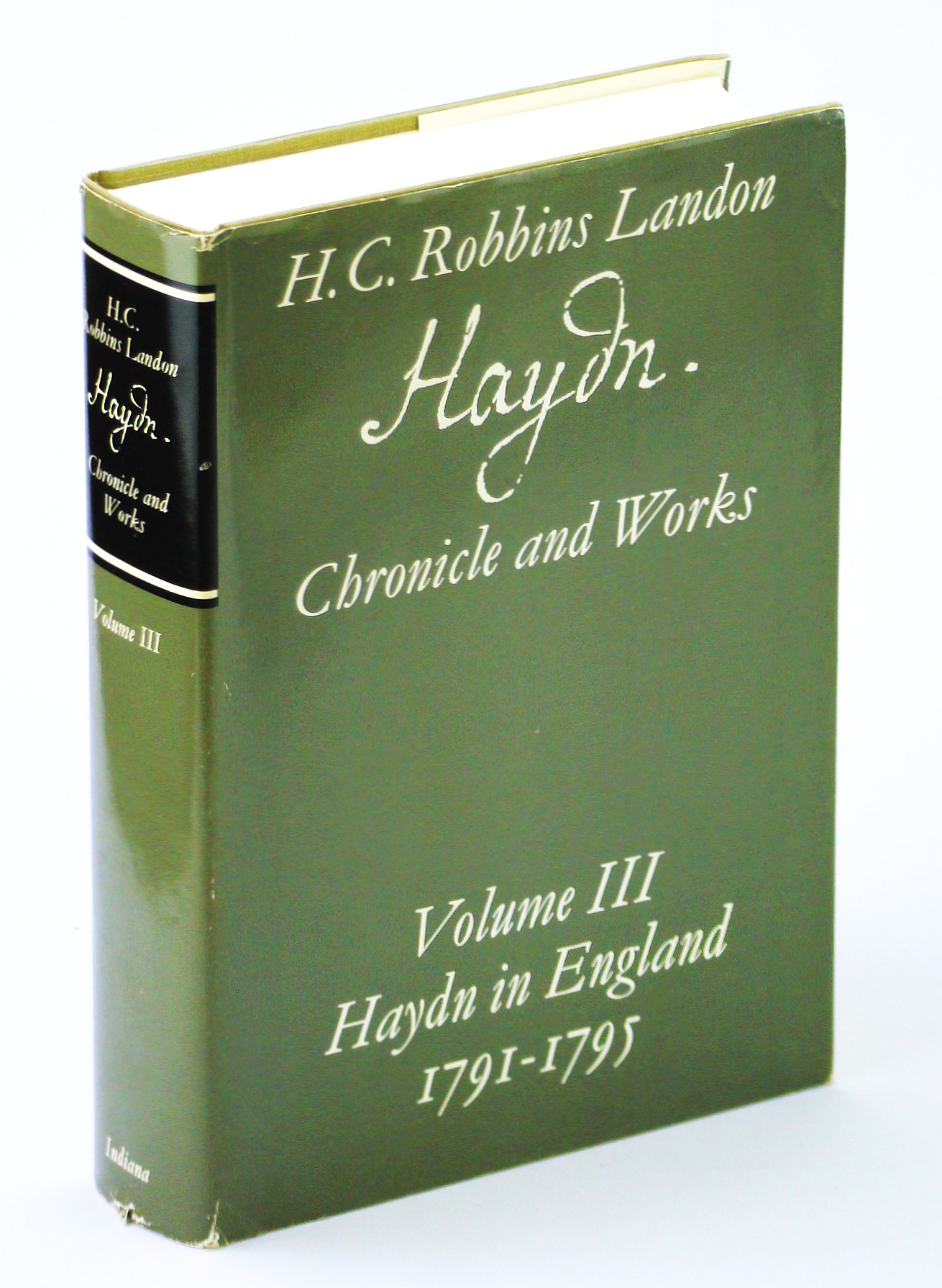 Image for Haydn in England, 1791-1795 (Haydn: Chronicles and Works, Volume 3)