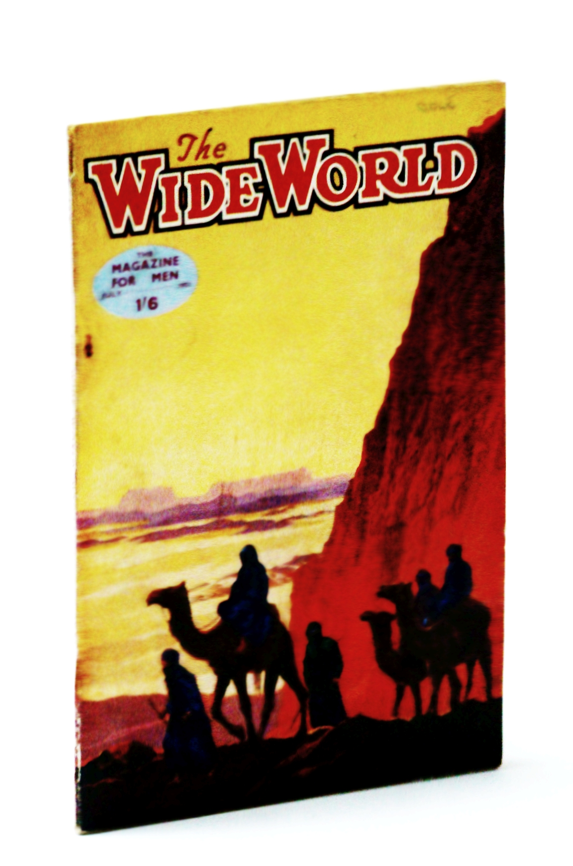 "Image for The Wide World - The Magazine For Men, July 1951 - The ""Killer"" Wolves of British Columbia"
