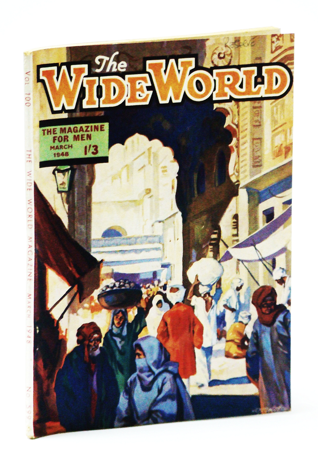 Image for The Wide World - The Magazine for Men, March (Mar.) 1948 - Tasmanian Robinson Crusoe / Woman Who Walked to Siberia