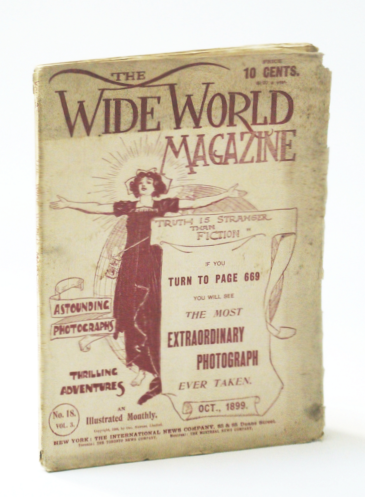 Image for The Wide World Magazine - An Illustrated Monthly, October (Oct.) 1899, Vol. 3, No. 18 - My Impressions of Pekin (Beijing / Peking)