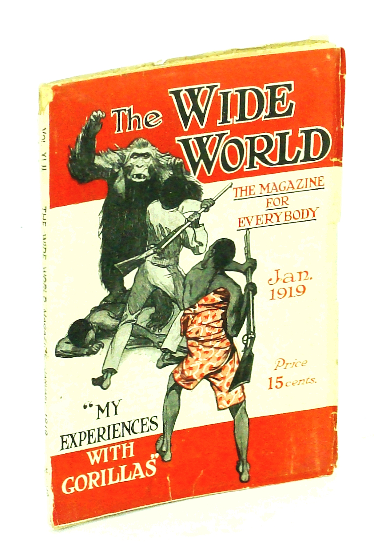Image for The Wide World, The Magazine for Everybody, January [Jan.] 1919, Vol. 42, No. 249: Behind the Scenes in Russia