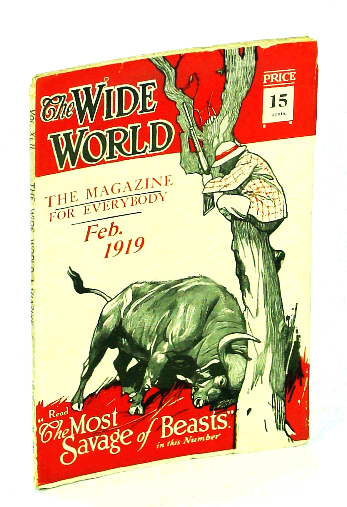 Image for The Wide World, The Magazine for Everybody, February [Feb.] 1919, Vol. 42, No. 250: Behind the Scenes in Russia