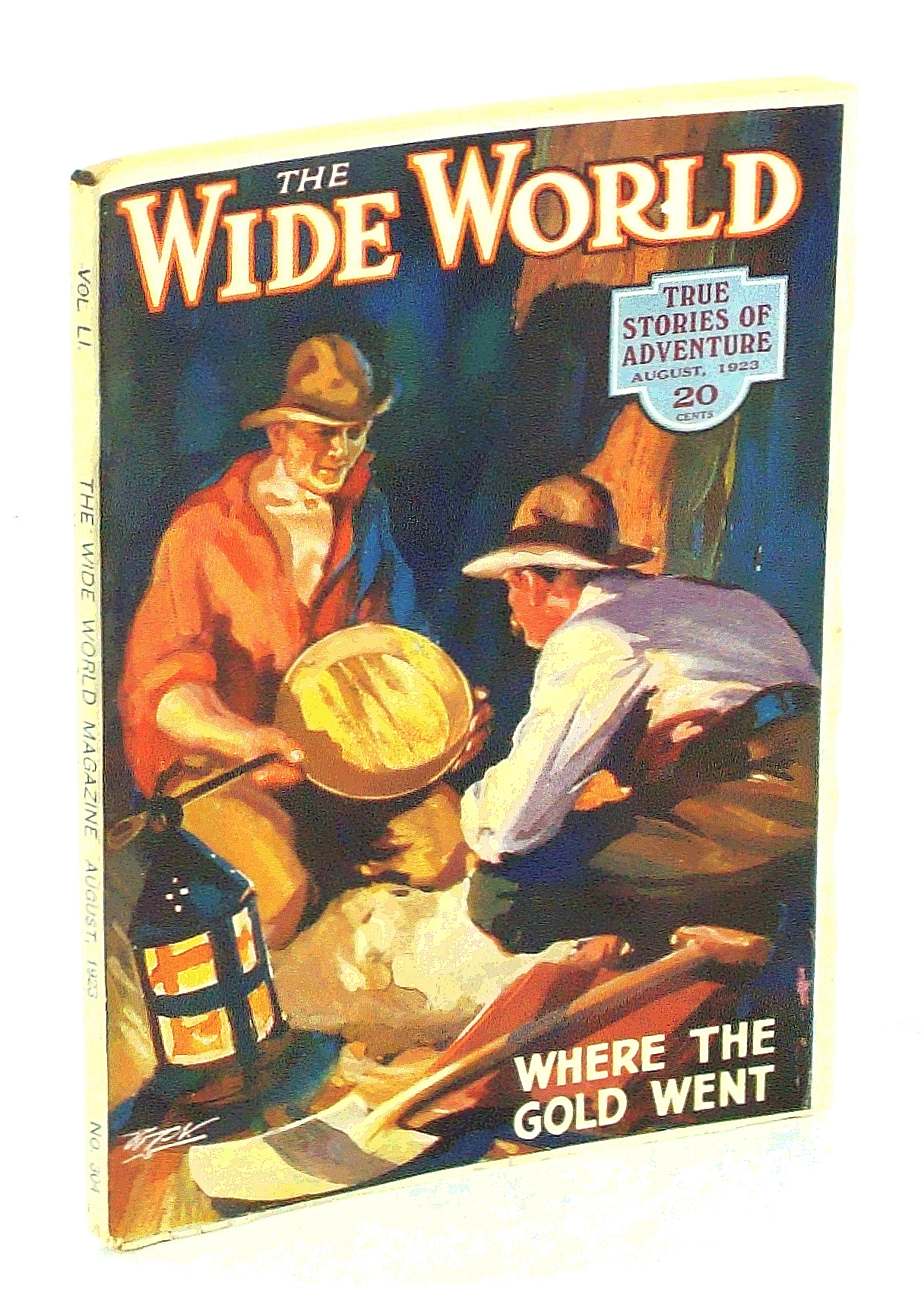 Image for The Wide World Magazine - True Stories of Adventure, August [Aug.] 1923, Vol. LI, No. 304: The Story of John Jewitt / The Children of the Wilderness
