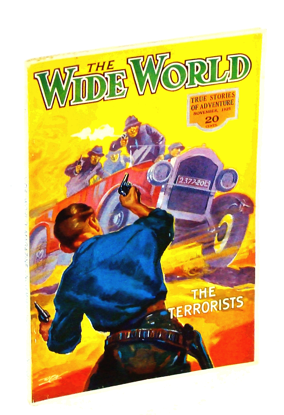 Image for The Wide World  Magazine, True Stories of Adventure, November [Nov.], 1925, Vol LVI, No. 331: The Passing of the Texas Rangers