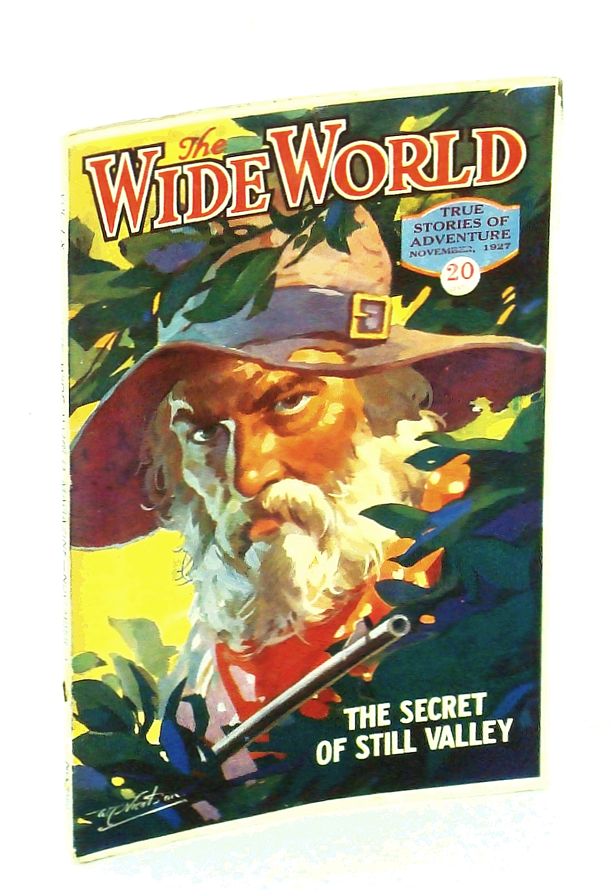 Image for The Wide World Magazine - True Stories of Adventure, November [Nov.] 1927, Vol. LX, No. 355: Through Spain in Disguise / Kite-Fighting in Siam / Maroons of Jamaica