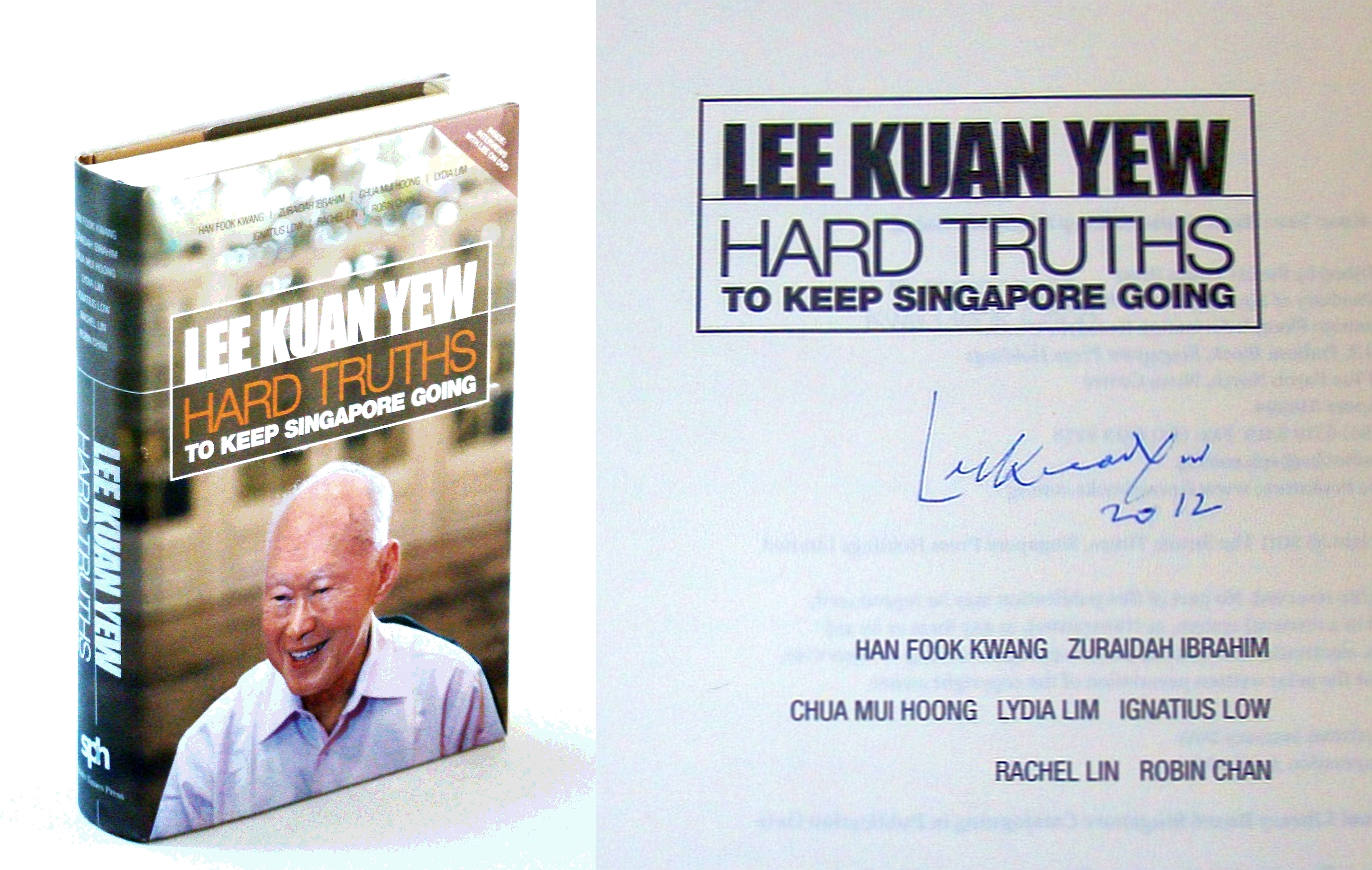Image for Hard Truths to Keep Singapore Going