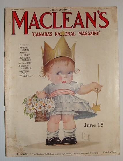 Image for Maclean's Magazine, June 15, 1924