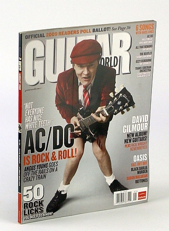 Image for Guitar World, January 2009 Issue