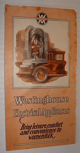 Image for Westinghouse Electrical Appliances Four (4) - Panel Promotional Brochure