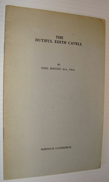 Image for The Dutiful Edith Cavell