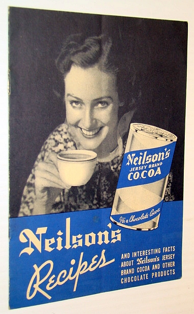 Image for Neilson's Recipes - and Interesting Facts About Neilson's Jersey Brand Cocoa and Other Chocolate Products