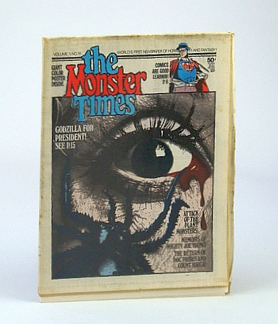 Image for The Monster Times - The World's First Newspaper of Horror, Sci-Fi and Fantasy, Volume 1, No. 16 - 18, October (Oct.) 1972