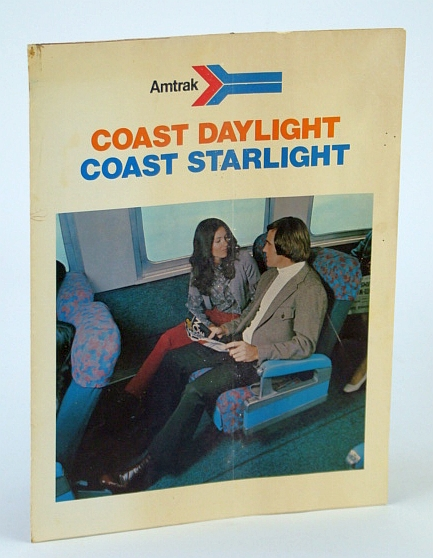 Image for Amtrak Coast Daylight / Coast Starlight Service Brochure (West Coast / California / Oregon / Washington / Vancouver, B.C.)