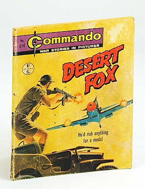 Image for Commando War Stories in Pictures, No. 514 - Desert Fox