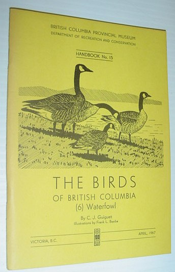 Image for The Birds of British Columbia (6) Waterfowl - Handbook No. 15