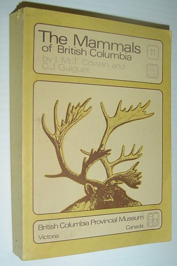 Image for The Mammals of British Columbia - Handbook No. 11