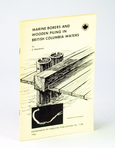 Image for Marine borers and wooden piling in British Columbia waters