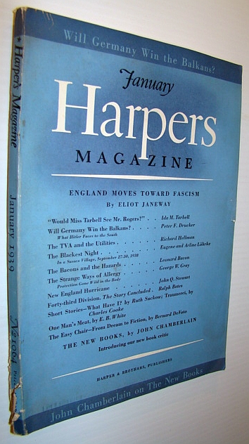 Image for Harper's Magazine, January 1939