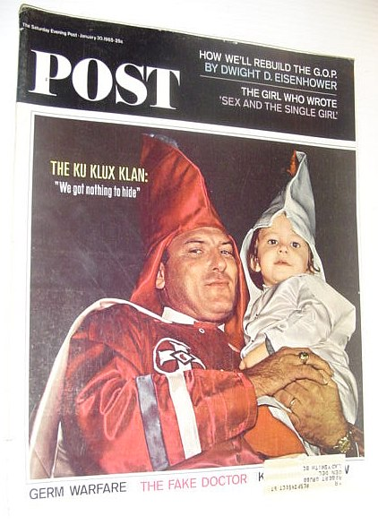 Image for The Saturday Evening Post, January 30, 1965 *KU KLUX KLAN COVER PHOTO*