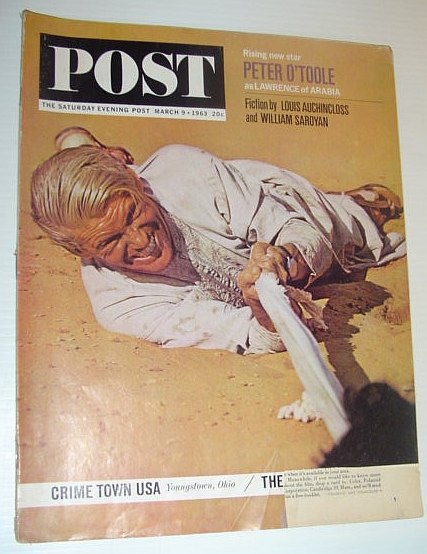 Image for The Saturday Evening Post, March 9, 1963 *LAWRENCE OF ARABIA*