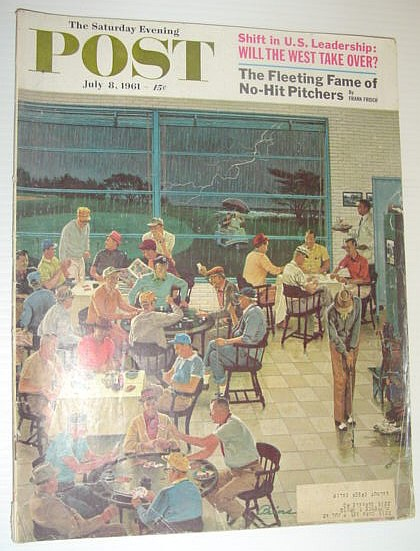 Image for The Saturday Evening Post, July 8, 1961 *NO-HIT PITCHERS/WILL THE WEST TAKE OVER?*