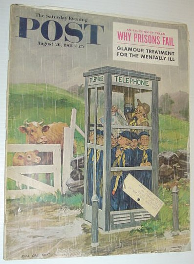Image for The Saturday Evening Post, August 26, 1961 *WHY PRISONS FAIL*