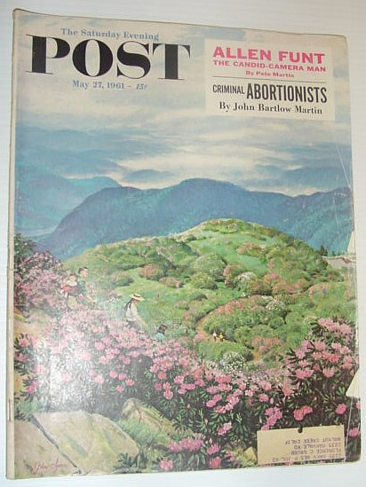 Image for The Saturday Evening Post, May 27, 1961 *ALLEN FUNT OF CANDID-CAMERA / CRIMINAL ABORTIONISTS*