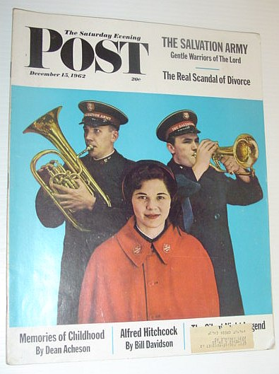 Image for The Saturday Evening Post, December 15, 1962 *THE REAL SCANDAL OF DIVORCE*