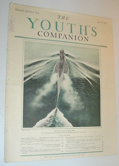 Image for The Youth's Companion, June 9, 1927 *COVER PHOTO OF SUBMARINE 0-3*