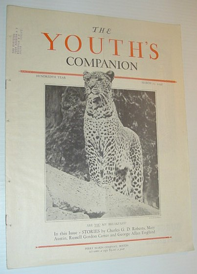 Image for The Youth's Companion, March 25, 1926