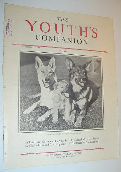 Image for The Youth's Companion, May 27 1926 *RIN TIN TIN COVER PHOTO*
