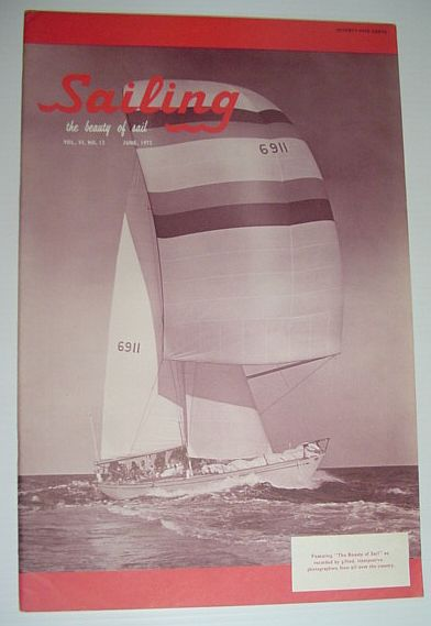 Image for Sailing (Magazine) - The Beauty of Sail: June 1972