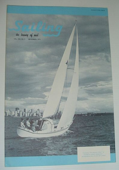 Image for Sailing (Magazine) - The Beauty of Sail: November 1973