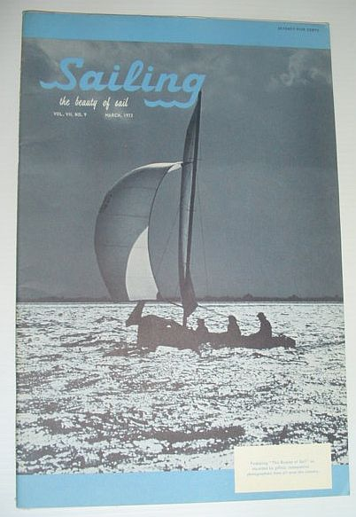 Image for Sailing (Magazine) - The Beauty of Sail: March 1973