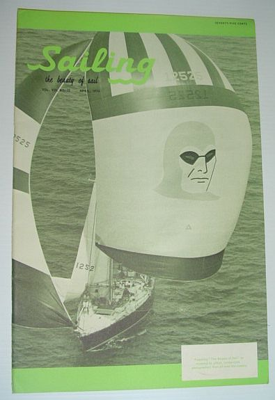 Image for Sailing (Magazine) - The Beauty of Sail: April 1974