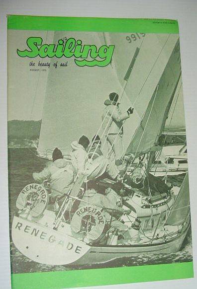 Image for Sailing (Magazine) - The Beauty of Sail: August, 1975