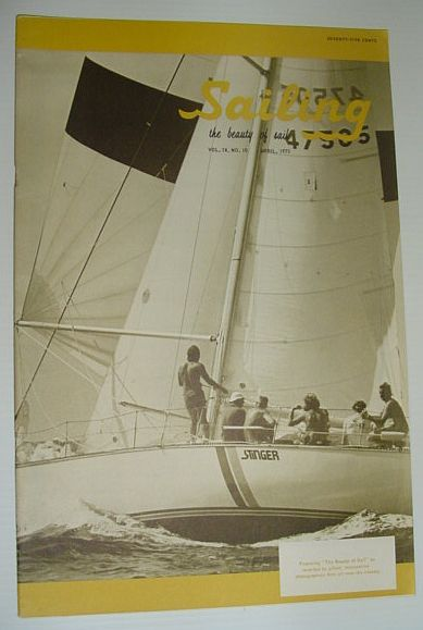 Image for Sailing (Magazine) - The Beauty of Sail: April 1975
