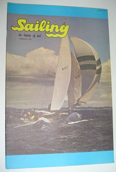 Image for Sailing (Magazine) - The Beauty of Sail: February 1976