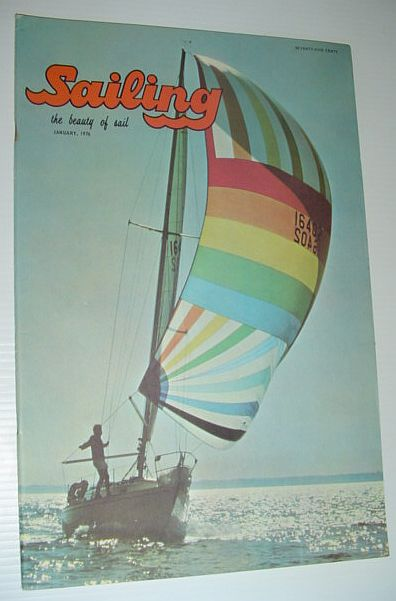Image for Sailing (Magazine) - The Beauty of Sail: January 1976