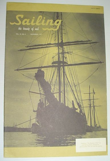 Image for Sailing (Magazine) - The Beauty of Sail: December 1971