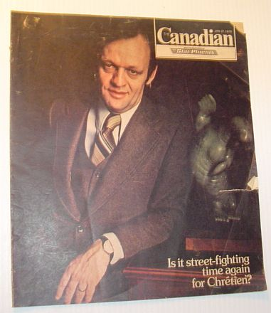 Image for The Canadian (Magazine), 21 January 1978 - Cover Photo of Jean Chretien, Feature Article on Rock Group RUSH