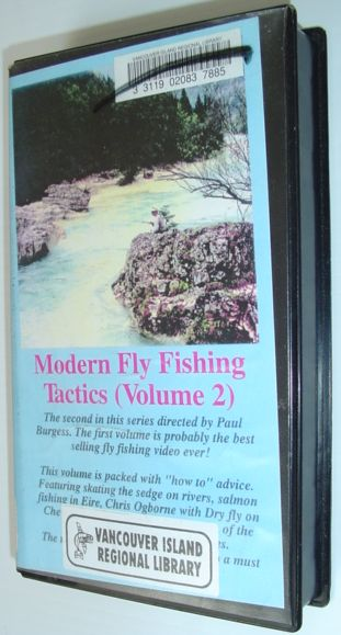 Image for Modern Fly Fishing Tactics (Volume 2) - VHS Tape in Case